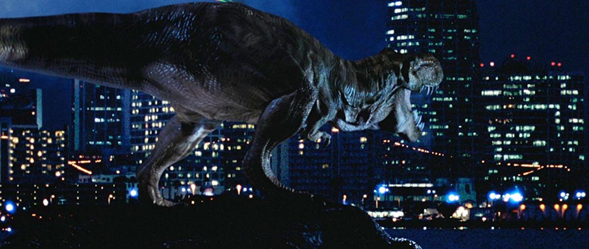 O mundo perdido de Jurassic Park