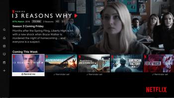 App Netflix para smart tv