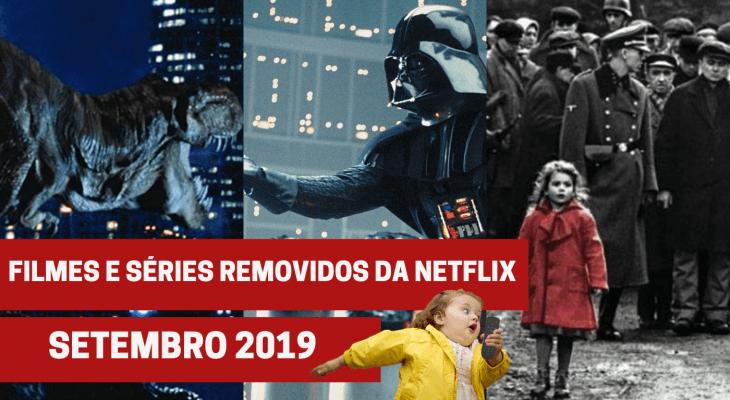 Filmes e séries removidos da Netflix em setembro 2019