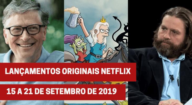 Lançamentos originais Netflix: De 15 a 21 de setembro de 2019