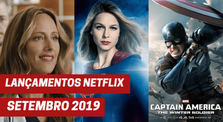 Lançamentos Netflix setembro 2019
