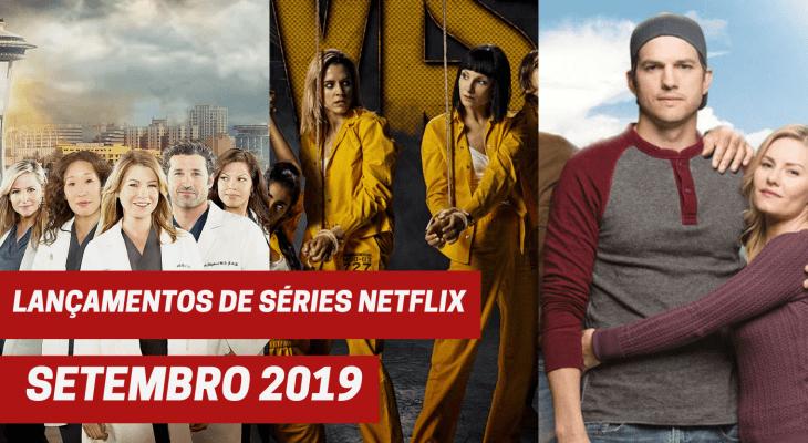 Lançamentos de séries Netflix em setembro 2019