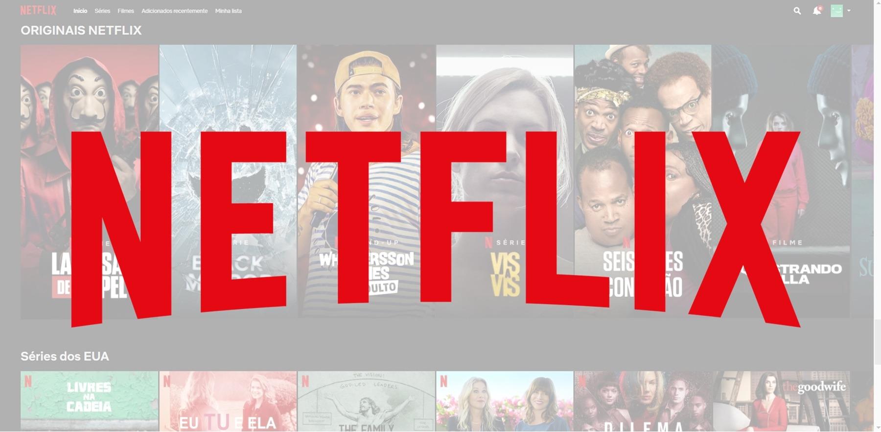 Ligando para a Netflix