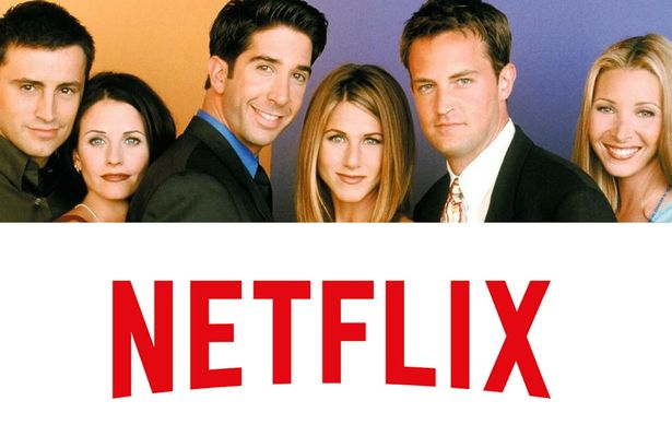 Friends é a série mais popular da Netflix