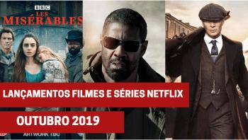 Lançamento de filmes e séries Netflix em outubro de 2019