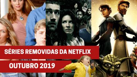 Séries removidas Netflix outubro 2019