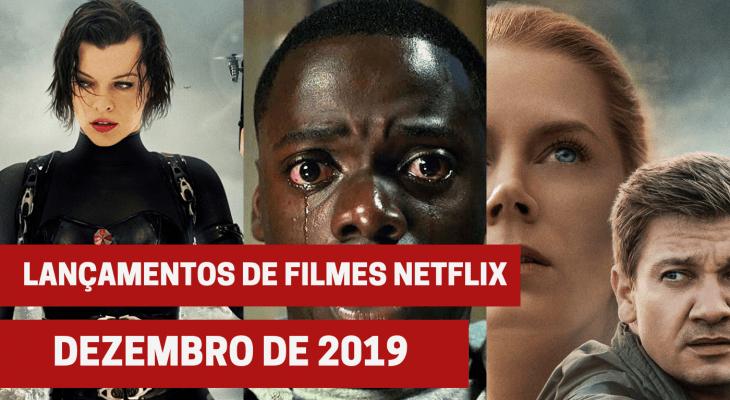 Lançamentos de 23 filmes na Netflix em dezembro de 2019