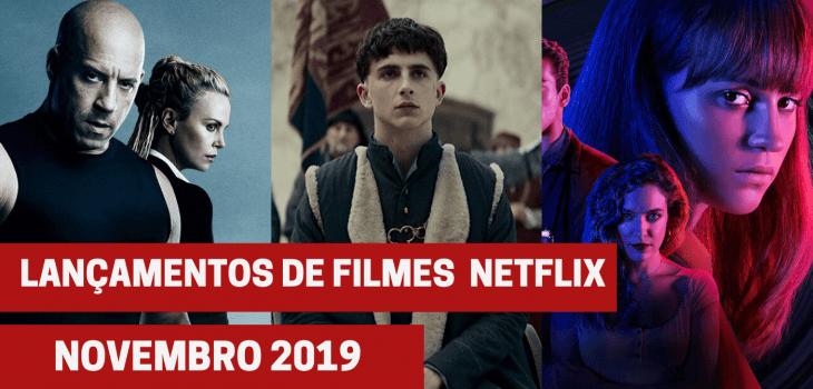 Netflix - filmes novembro 2019