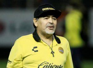 Maradona no México