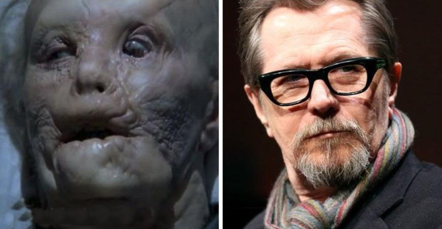 Mason Verger - Hannibal (antes e depois da transformação)
