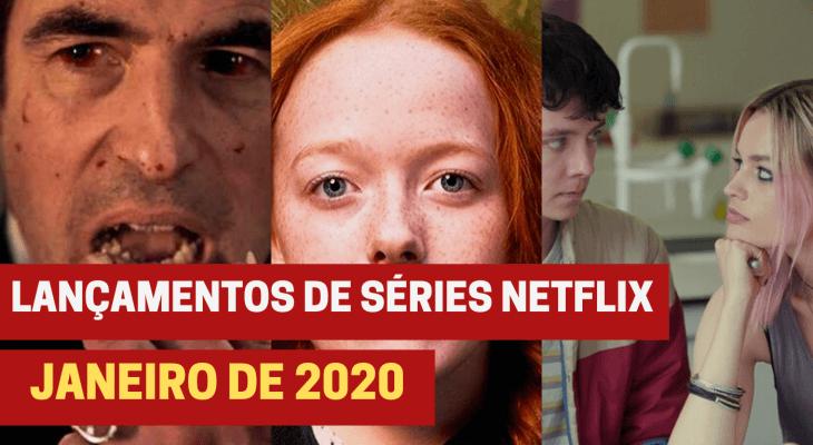 Lançamentos de 18 séries na Netflix em janeiro de 2020