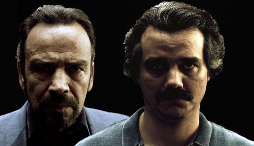Capa da série Narcos com Wagner Moura