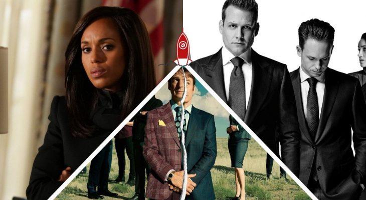Séries de advogados Netflix