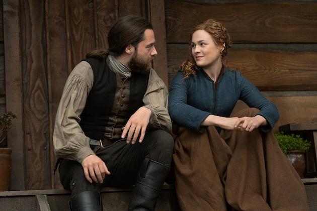 Outlander fotos da sexta temporada Netflix