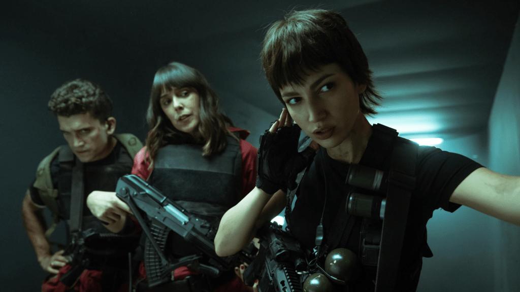 Netflix divulga primeiras imagens de La Ccasa de Papel